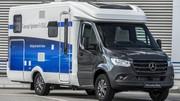 Mercedes invente le camping-car à hydrogène