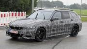 La future BMW Série 3 Touring enfin photographiée