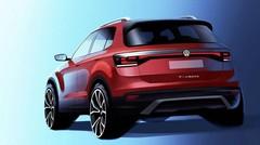 Volkswagen T-Cross : le mini-SUV vu de dos