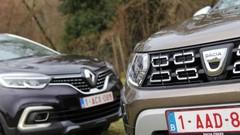 Essai Dacia Duster vs Renault Captur : faux frères !