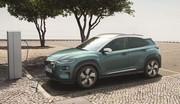 Hyundai Kona EV : les prix du crossover électrique