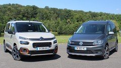 Essai Citroën Berlingo vs Volkswagen Caddy : changement d'époque