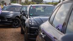 Le Porsche Macan restylé se prépare