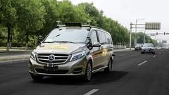 Mercedes teste des voitures autonomes à Pékin