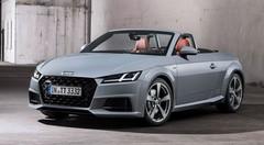 Mini-lifting et série limitée pour les 20 ans de l'Audi TT