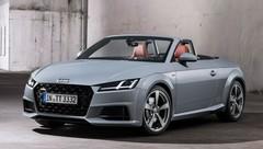 Audi: la TT restylée avec une série limitée 20e anniversaire