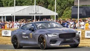 La Polestar 1 fait son show à Goodwood
