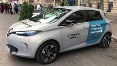 Renault annonce le service Moov'in.Paris d'auto-partage qui succèdera à Autolib'