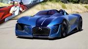 DS X E-Tense : l'essai sur piste du concept-car « Double-Face »