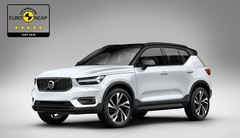 Volvo XC40 : 5 étoiles aux crash-tests Euro NCAP