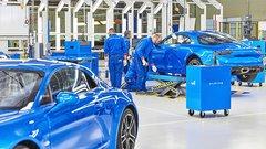 Alpine A110, 1000 exemplaires sont maintenant sortis d'usine