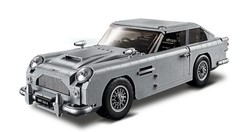 Aston Martin : la voiture de James Bond en Lego