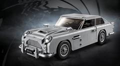 1 290 briques : voici l'Aston Martin DB5 de James Bond en Lego !