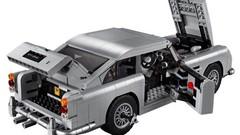 Assemblez l'Aston Martin DB5 de James Bond… avec ses gadgets !