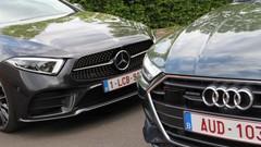 Essai Audi A7 Sportback 55 TFSI vs Mercedes CLS 450 : limousines, en tenue de soirée