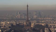 Paris : circulation différenciée à cause de la pollution