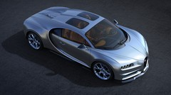 La Bugatti Chiron se dote d'un toit en verre « Sky View »