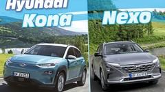 Hyundai Nexo vs Kona Electric : électrique à hydrogène ou à batterie ?