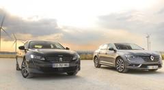 Essai Peugeot 508 vs Renault Talisman