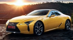 Lexus LC : le Coupé en Yellow Edition
