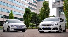 Essai Peugeot 308 1.2 Puretech 130 EAT8 vs Volkswagen Golf 1.5 TSI EVO 130 DSG7