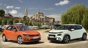Essai Citroën C3 vs Volkswagen Polo 2018 : laquelle est la meilleure ?