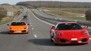 Essai Lamborghini Gallardo Superleggera vs Ferrari F430 : Taureau contre cheval