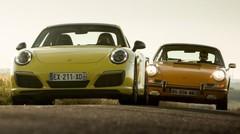 Road trip Porsche 911 T & Carrera T : l'instant T