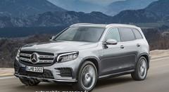 Le SUV compact Mercedes GLB réduit son camouflage