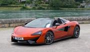 Essai McLaren 570S Spider : Du son, de la précision et du grip