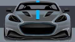Aston Martin RapidE (2019) : une batterie 800 volts très performante