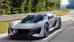 Concept Audi PB18 e-tron : sportive électrique à la carte