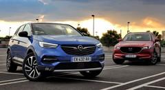 Essai Opel Grandland X VS Mazda CX-5 : match des outsiders