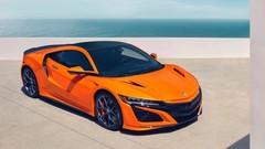 Honda NSX : nouveaux réglages et carrosserie orange