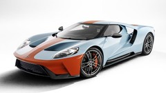 Ford GT Héritage Édition Gulf (2019) : Une Ford GT « Gulf » 50 ans après