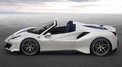 Ferrari : La 488 Pista Spyder enlève le haut
