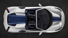 La Ferrari 488 Pista Spider se laisse déjà découvrir