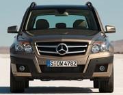 Mercedes GLK : Dimensions compactes, maxi-personnalité