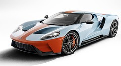 """Ford a dévoilé une jolie FORD GT Heritage Edition """"Gulf"""""""