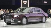 Aurus Senat : la limousine de Poutine se dévoile à domicile