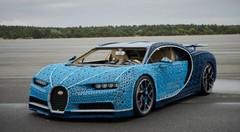 Une Bugatti Chiron à taille réelle en Lego !