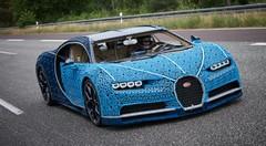 Lego dévoile une Bugatti Chiron à l'échelle 1 qui roule
