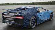 La Bugatti Chiron revue selon Legoà l'échelle 1 : et elle roule!