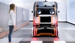 Des yeux sur un véhicule autonome pour rassurer les piétons