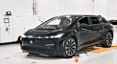 Faraday Future a assemblé sa FF 91 électrique de pré-production