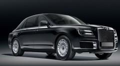 Aurus Senat : la limousine de Vladimir Poutine présentée à Moscou