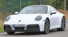 La future Porsche 911 type 992 montre (presque) tout