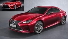 Le coupé Lexus RC s'offre un léger restylage