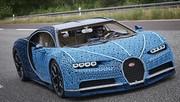 Plus d'un million de LEGO pour cette Bugatti Chiron entièrement fonctionnelle