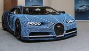 Une Bugatti Chiron en Lego qui roule